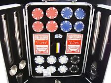 Poker Set by Bar Butler in carrying case
