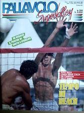 Pallavolo n°5-6 1990 - con poster di Smith e Stoklos [GS35]