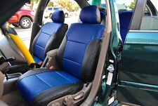 HONDA CIVIC 1997-2002 IGGEE S.LEATHER CUSTOM FIT SEAT COVER 13COLORS AVAILABLE