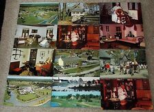 Lot of 19 Upper Canada Village Ontario Canada postcard views