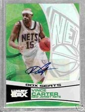 VINCE CARTER 2005-06 TOPPS LUXURY BOX AUTOGRAPH CARD