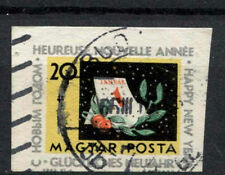 Hungary 1963 SG#1955, 20fi New Year Used Imperf #A65720