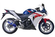 Honda CBR250R CBR 250 R 2011-2012-2013-2014  Musarri BLUE slipon Exhaust