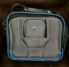 FUL GRAY BLUE BLACK COMPUTER LAPTOP OFFICE MESSENGER BAG CARRY-ON LUGGAGE