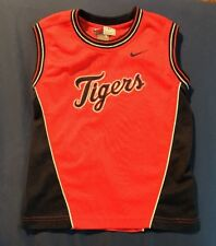 Size 5 Youth Nike Detroit Tigers Sleeveless MLB Baseball Jersey Shirt Orange