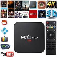 Mxq Pro 4K 3D 64Bit Android 7.1 Quad Core 1080P Hdmi Wifi Kodi 17.6 Smart Tv Box