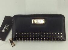 Women's BCBG PARIS Brand Large Black LEATHER Wallet - $68 MSRP - 20%
