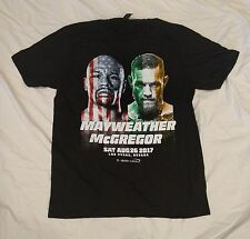 Floyd Mayweather Conor McGregor LIMITED EDITION Boxing OFFICIAL Fight Shirt 250