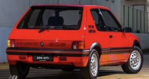 GENUINE SEIMA PEUGEOT 205 Si, GTI Hatchback RIGHT & LEFT TAIL LIGHT (SET) NEW