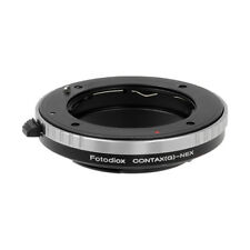 Fotodiox Lens Adapter Contax G Rangefinder Lenses to Sony E-Mount