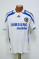 CHELSEA LONDON 2007/2008 THIRD FOOTBALL SHIRT JERSEY ADIDAS SIZE S ADULT