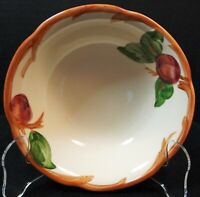"""Franciscan Apple Cereal Bowl 6"""" Coupe USA TV Stamp Excellent"""