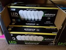 6 pk LED 60W Dimmable Replacement Bulbs FEIT ELECTRIC 800 Lumens Soft White
