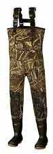 New Men 5mm MAX-5 Camo Fishing/Hunting Neoprene Wader Lug Boots Size 13 Stout