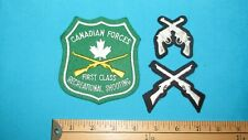 ** 70S CANADIAN FORCES FIRST CLASS RECREATIONAL SHOOTING RIFLE AWARD PATCH **