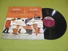 "Brahms - Hungarian Slavonic Dances / Ancerl / 1959 ""875 014 CY FULL STEREO"" NM"