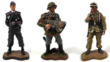 Lot de 3 Soldats de Plomb Allemands Seconde Guerre Mondiale WW2 1/32 60mm - LS1