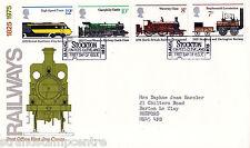 """1975 ferrocarriles-po-Stockton """"ticket"""" gomígrafo"""
