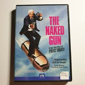 The Naked Gun: From the Files of Police Squad! | DVD Movie | Comedy/Action | PAL