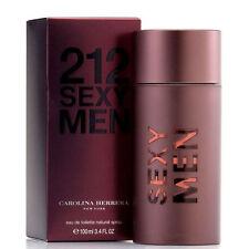 212 SEXY BY CAROLINA HERRERA - MEN'S PERFUME* 3.4 OZ EDT *COLOGNE* NIB SEALED