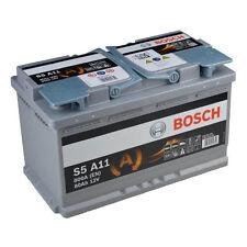 Bosch S5 A11 AGM VRLA Start-Stop Starterbatterie 80Ah Autobatterie *NEU*