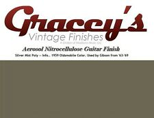-Silvermist Poly- Gracey's Vintage Finishes Nitrocellulose Guitar Lacquer.