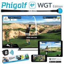 PHIGOLF 3D GOLF SWING ANALYSER & WGT EDITION HOME TV TABLET GOLF SIMULATOR GAME