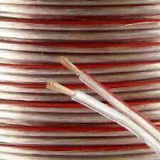 10m 2x 0.75mm 18AWG multi-hilo Altavoz Cable Para Casa/Coche Audio Hi-fi