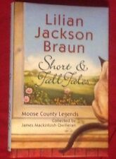 SIGNED Short & Tall Tales by Lillian Jackson Braun 2002 HC First Edition VG/VG