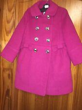 Monsoon Girls Dress Coat Dark Pink Dress Coat / Jacket Age 3-4 Years