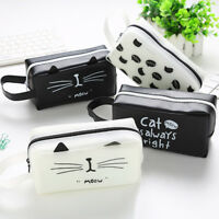 Cute Large Capacity Pen Pencil Case Box School Stationery Cosmetic Bag Hot SPE