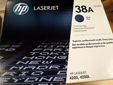 Genuine Original HP Q1338A (38A) Black Toner Cartridge | New and unboxed - FREE