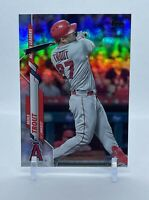 Mike Trout 2020 Topps Update Active Leader (WAR) #U-292 FOIL!