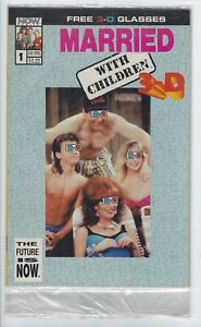 Married With Children 3D #1 NM- [Now 1993] With Glasses, sealed