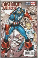 Captain America #1 : Onslaught Reborn : Marvel comic book