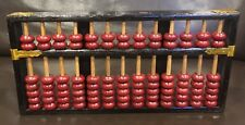 Vintage Wooden Chinese Abacus Calculation Tool