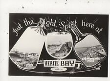 Just The Right Spirit Here At Herne Bay Vintage RP Postcard 919a