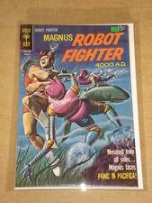 MAGNUS ROBOT FIGHTER #27 FN (6.0) GOLD KEY COMICS AUGUST 1969