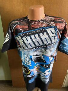 Kasey Kahne #5 Nascar Chase Multi- Color Total Print Men's Shirt 2013 X-Large