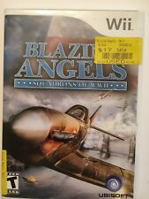Wii Video Games BLAZING ANGELS Squadrons Of WW II