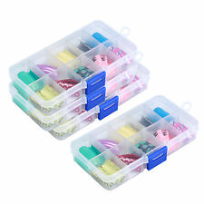 100pcs Mixed False Acrylic Nail Art Tips & Case