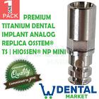 X 1 Premium Titanium Dental Implant Analog Replica Osstem® TS | Hiossen® NP MINI