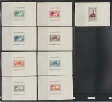 LAOS STAMPS 1951 VIEWS OF KING SISAVANG VONG CREASES SEE SCAN SS MNH - MISC1165