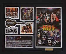 Kiss Limited Edition Signature Framed Memorabilia (b)