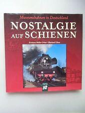 2 Bücher Nostalgie auf Schienen Museumsbahnen Deutschland Abschied Schienenbus
