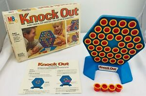 1978 Knock Out Game by Milton Bradley Complete in Great Condition FREE SHIPPING