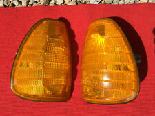 Mercedes Benz W123 US Blinker Set USA Orange mit Sidemarker SML W 123 300 CE