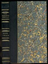 Mark TWAIN The Innocents Abroad. With Introduction Edward Hingston 1870 1st Eng.