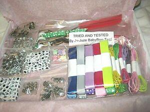 "Dummy Clip /Pram Starter Kit ""My Little Gem"" ++ 2 Free Gifts, with Instructions"