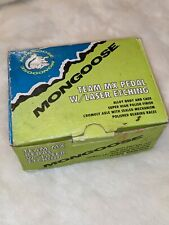 """Pair Mongoose Team Mx Pedal Alloy Body and Cage 1/2"""" 18-561"""